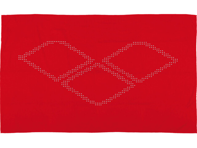 arena Halo Towel red-white